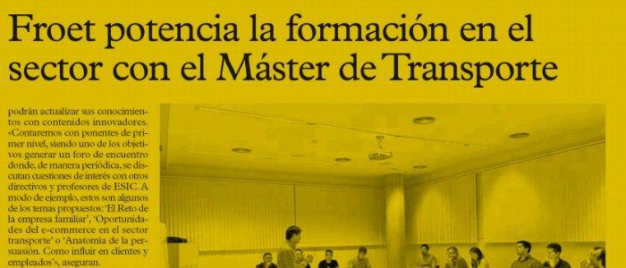 Master FROET en La Verdad .es