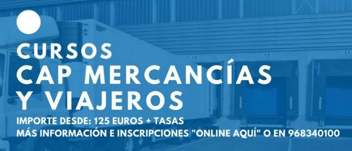 Curso Cap en Murcia para conductores de camión y autobús