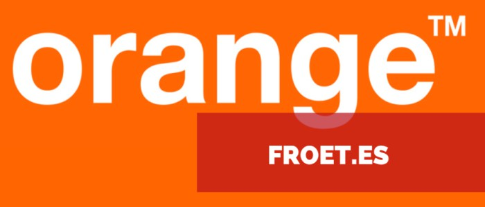 Convenio FROET - ORANGE 2018