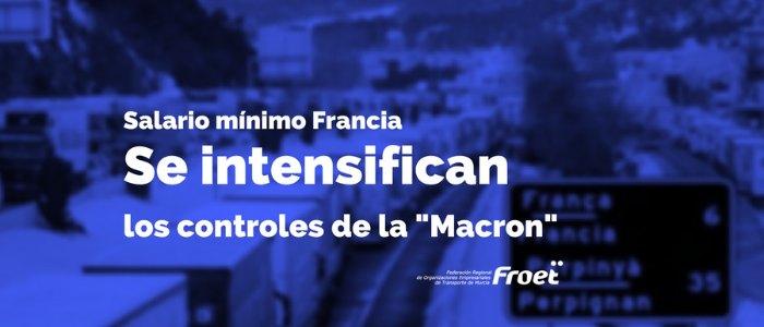 Servicio de representante en Francia Ley Macron