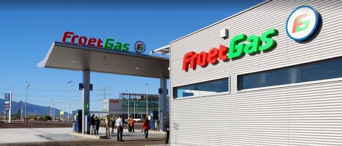 Estación se servicio FROET Gas