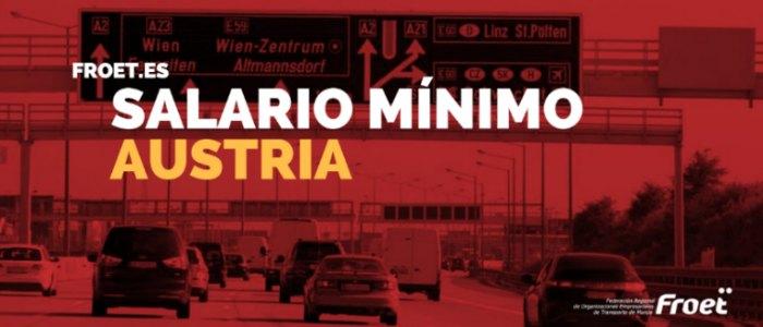Salario mínimo en Austria