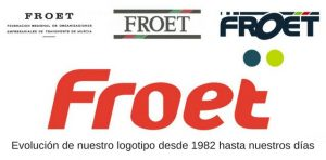 Evoluición de la imagen corporativa de FROET - LOGOTIPO